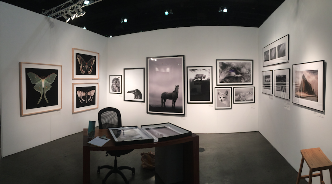 G2 Galley booth at LA Art Show 2015 -                      Jan. 2015
